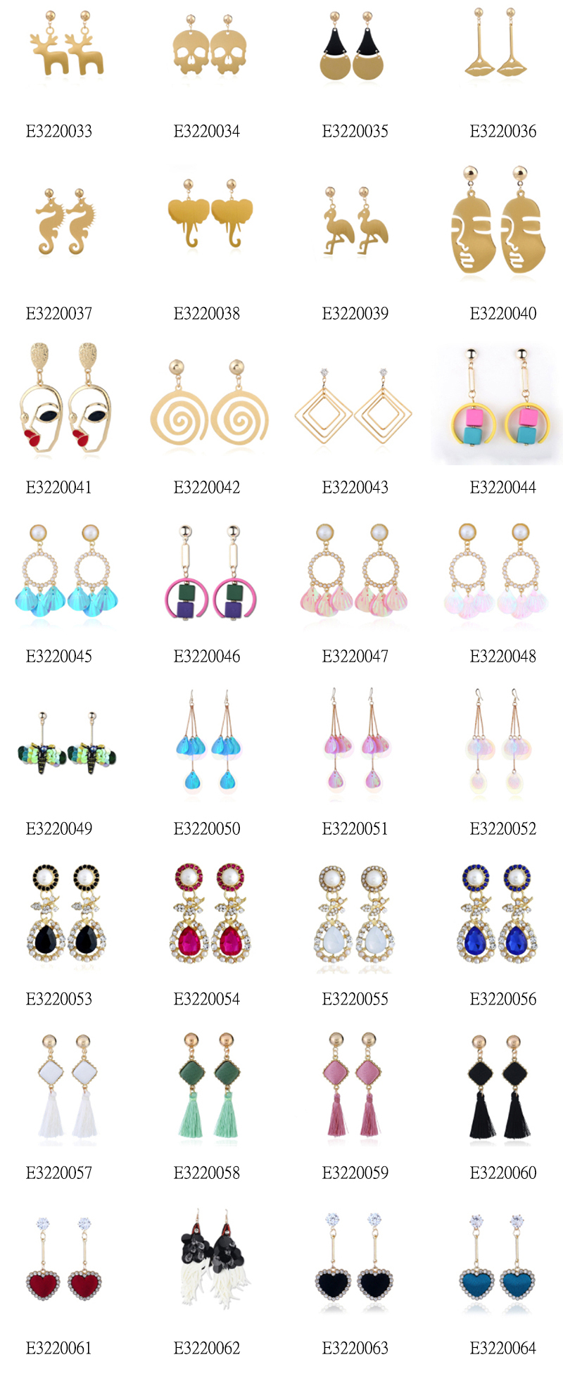 145 Zinc Alloy Earrings Design Idea Every Buyer Should Know - SOQ